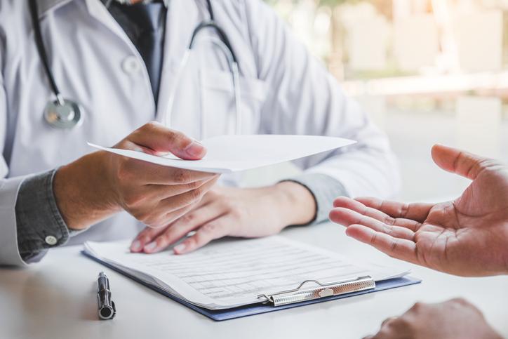 Exame particular precisa de pedido médico