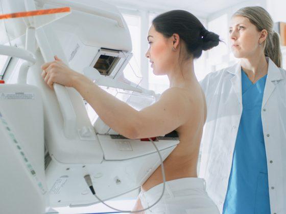 Exames de mamografia