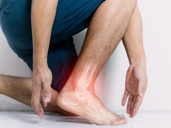 Ressonância magnética do tornozelo
